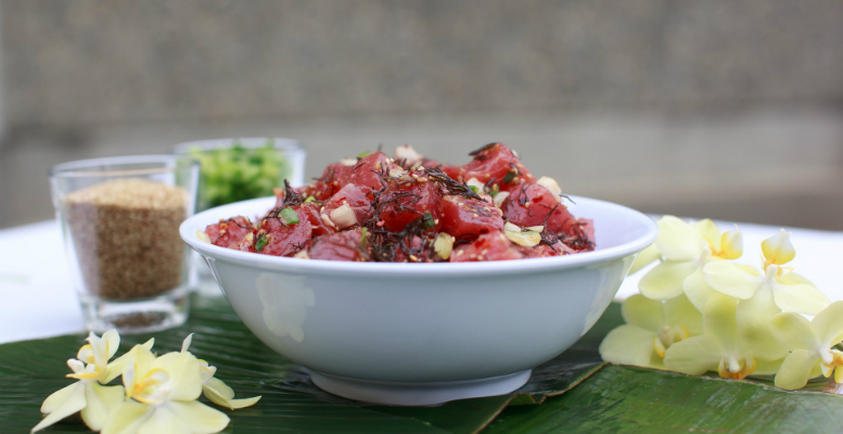 Poke bowl - menu trends to watch in May