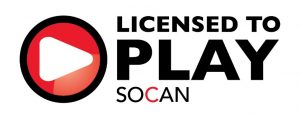 SOCAN Licensed to Play