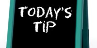 Today's tip for the restaurant industry