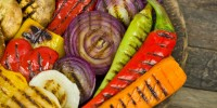 Grill your vegetables for a healthy BBQ season