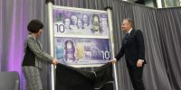 Bank of Canada unveils commemorative bank note for Canada's 150th anniversary