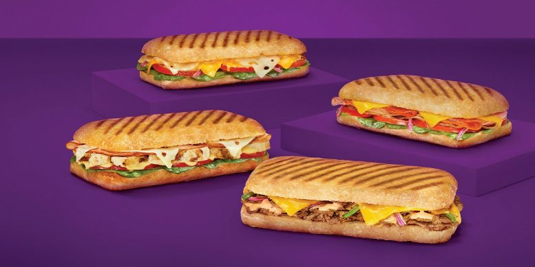Subway paninis