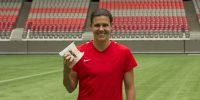 A&W Canada and the MS Society of Canada team up with soccer superstar Christine Sinclair for Burgers to Beat MS day