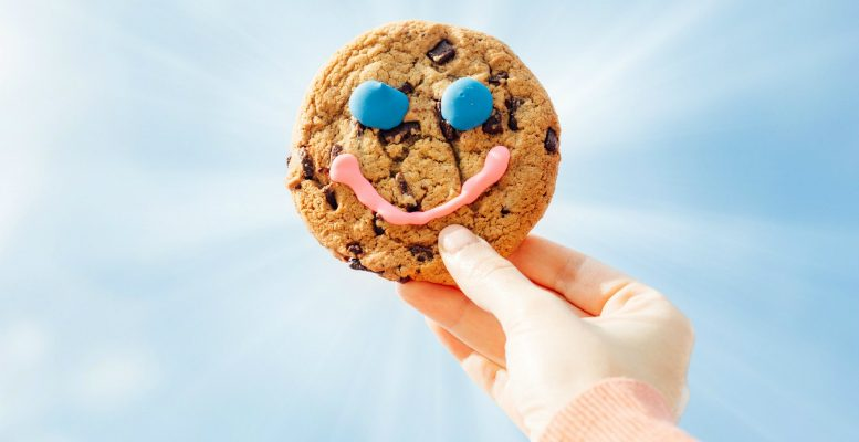 Buy a Tim's cookie, make a smile