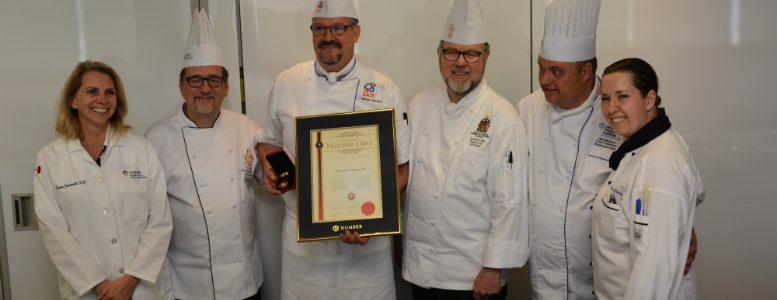 CMC designation - certified master chef