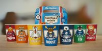 Tim Hortons launches new limited edition collectable cups featuring NHL mascots