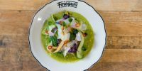 Recipe Club: Mackerel Crudo with Leche de Tigre Vinaigrette