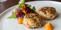 Recipe Club: Spiced Scallop, Shrimp & Lobster Cake