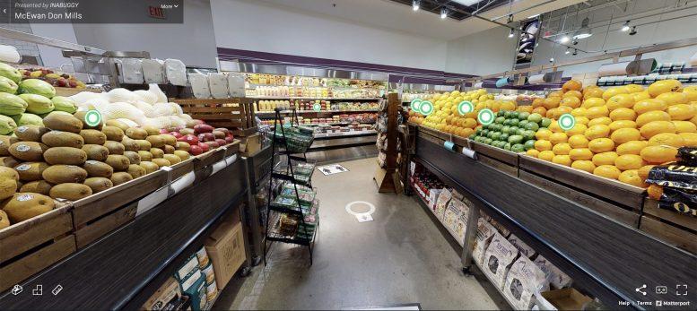 virtual grocery shopping