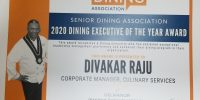 Delmanor chef Divakar Raju becomes first Canadian to win prestigious dining award