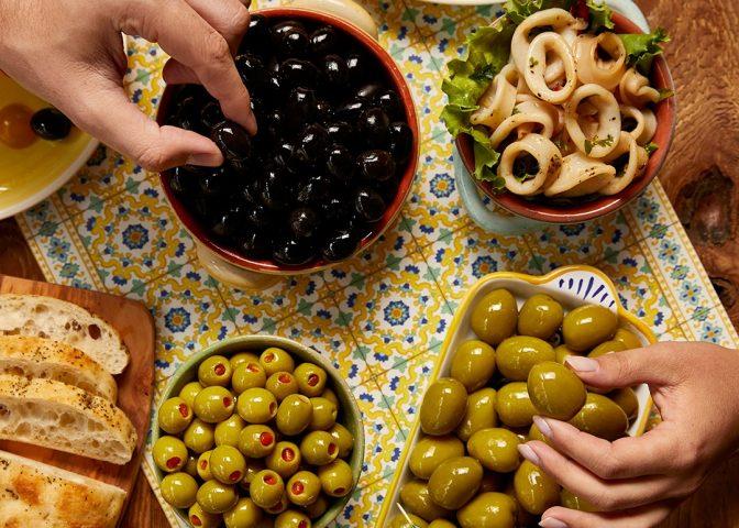 European olives