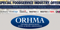 Complimentary ORHMA membership offer from MediaEdge Communications