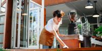 Restaurant cleaning for post-pandemic challenges
